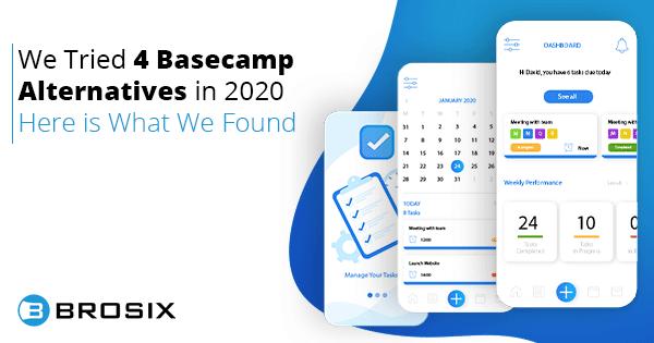 4 Basecamp Alternatives