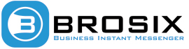 Brosix alternative logo with tagline