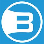 Brosix Mono color logo for dark background