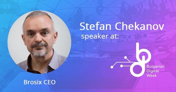 Stefan Chekanov Speaker on Bulgarian Digital Week