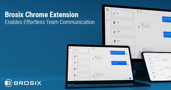 Brosix Chrome Extention