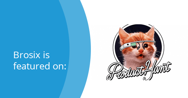 Brosix featured on Product Hunt