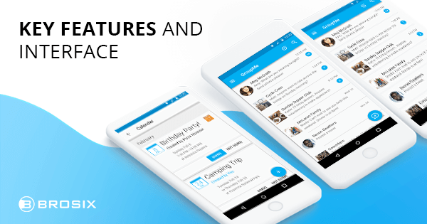 GroupMe key features and interface
