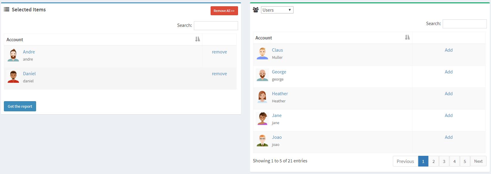 server-based chat history
