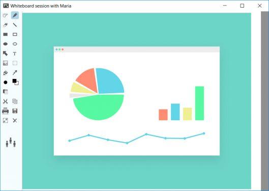 Brosix Virtual Whiteboard